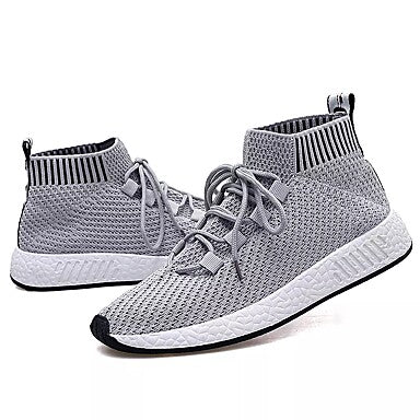 super popular 61e03 1cd1e Men s PU(Polyurethane) Spring   Fall Comfort Athletic Shoes Walking Shoes  Gray   Black   White   Black   Red  l055701