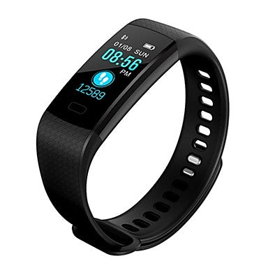 B18 Smartwatch Android iOS Bluetooth APP Control Calories Burned Bluetooth  Touch Sensor Pulse Tracker Pedometer Call Reminder Activity Tracker Sleep