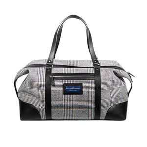 Gentleman's wool travel bag - nero