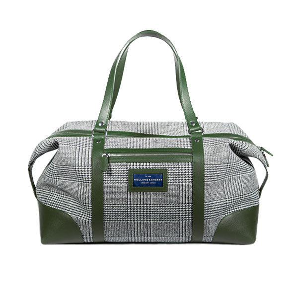 Gentleman's wool travel bag - verde