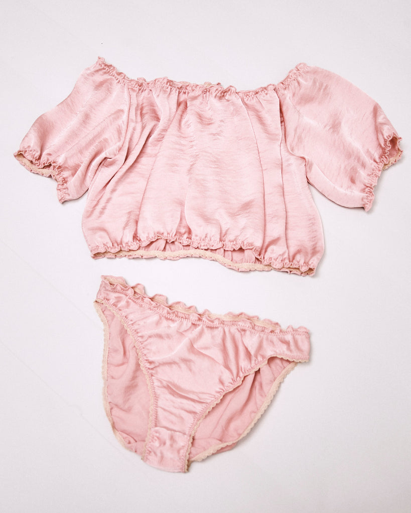 Bae - Silk lingerie set