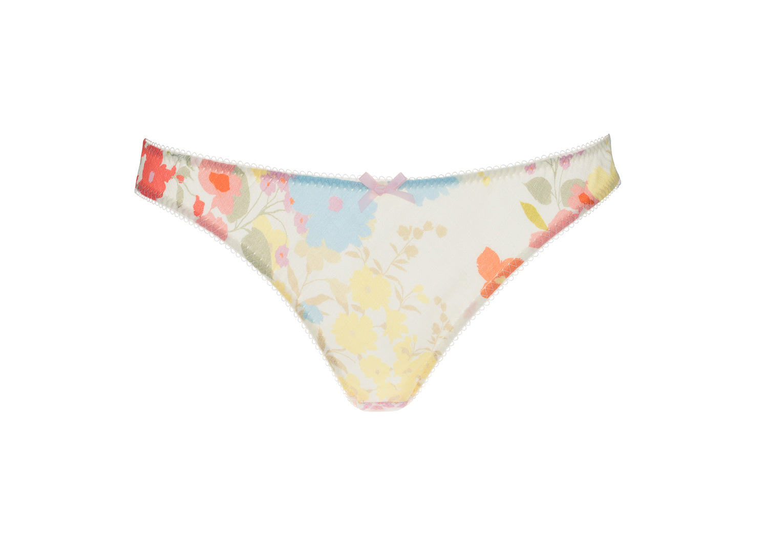 floral brief knicker