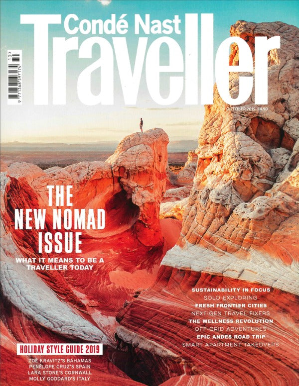 Coldfire as seen in Condé Nast Traveller magazine September2019