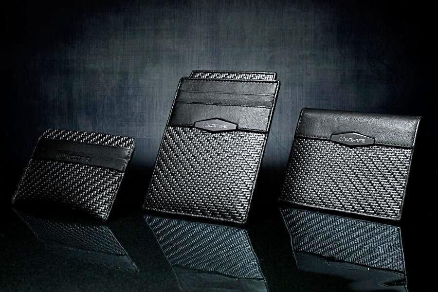 coldfire, gt rebel, cardholders, leather card holder, slim wallets, business cards holders, carbon fiber, kangaroo leather, everyday carry EDC