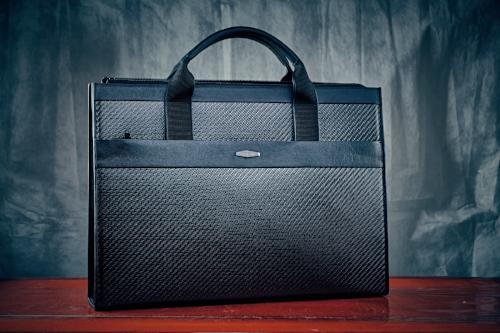 coldfire-carbon-fiber-bag-tote-bag-leather-business-bags