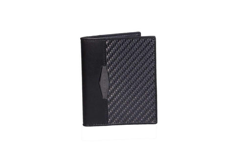 slim wallet, slim leather wallet, thin wallet, men's wallet, carbon fiber wallet