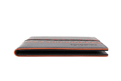 blade line-slim card holder-carbon fiber mini cardholder ID-orange-coldfire-side