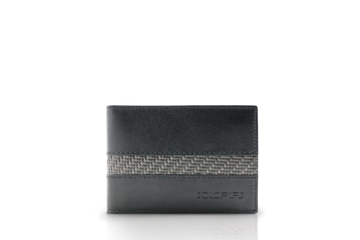 blade line-slim card holder-carbon fiber mini cardholder ID-black-coldfire-front