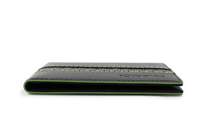 blade line-slim card holder-carbon fiber mini cardholder-green-coldfire-side