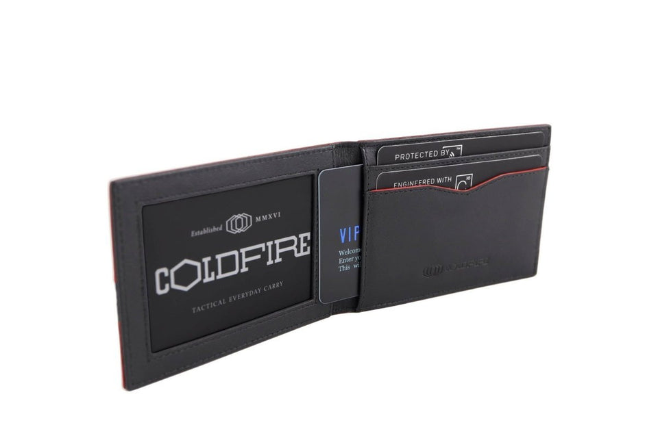 blade line-slim card holder-carbon fiber mini cardholder ID-red-coldfire-inside