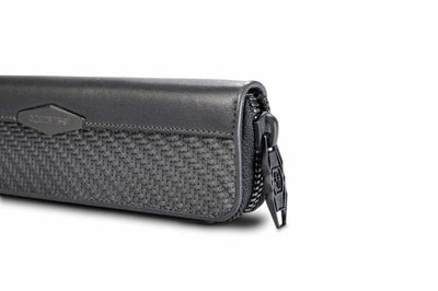 Carbon Fiber Pen Case With 2 Holders Accessories for men's coldfire