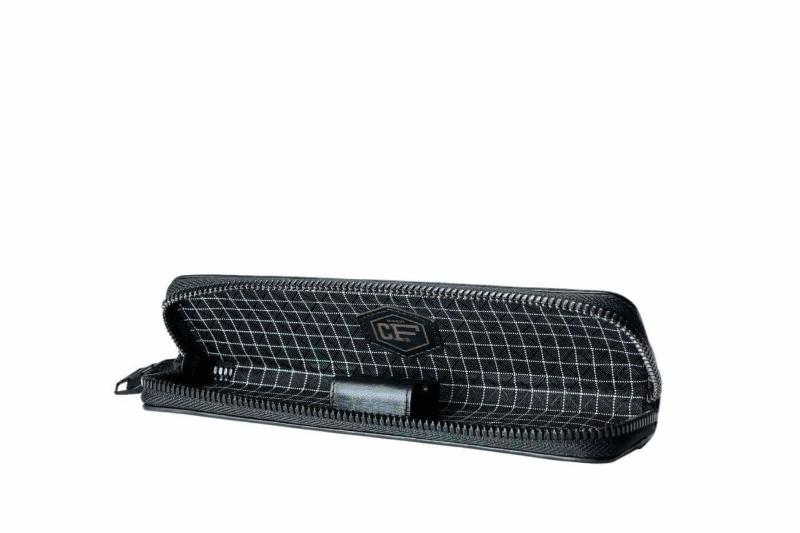 Carbon Fiber Pen Case with 2 holders