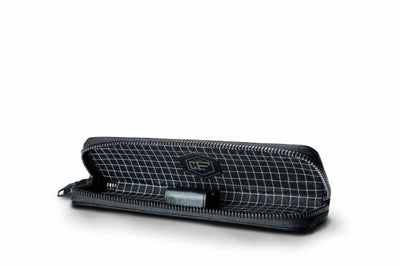 Carbon Fiber Pen Case With 2 Holders leather Accessories coldfire