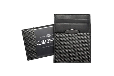 carbon fiber cardholder minimalist id wallet tactical stealth cardholders rfid coldfire