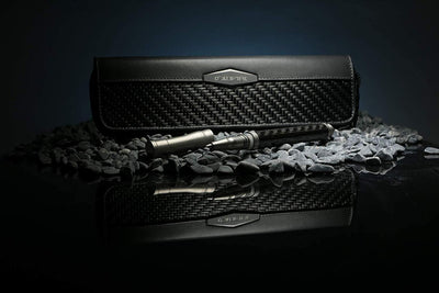 coldfire gt rebel tac ops set pen case tactical carbon fiber titanium on rocks