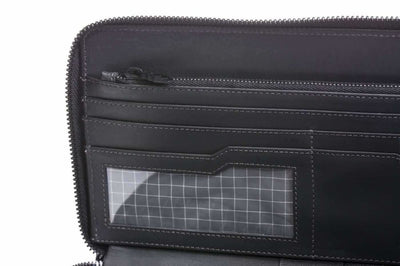 Travel Wallet Zip Around Organizers signature titanium coldfire