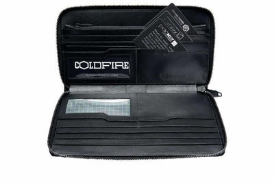 Travel Wallet Zip Around leather Organizers rfid coldfire