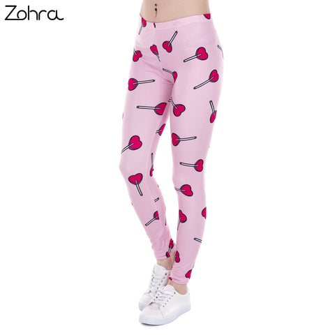 Brand Fashion Women Leggings Love