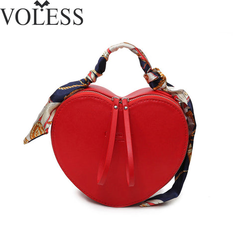 2018 New Arrival Peach Heart Fashion Bag
