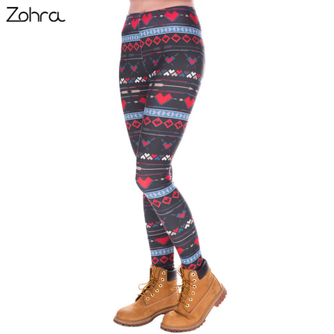 Zohra Fashion High Women Slim Fit Legging Casual Pants Leggings