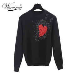 European Style New Fall Winer Women Star sweater
