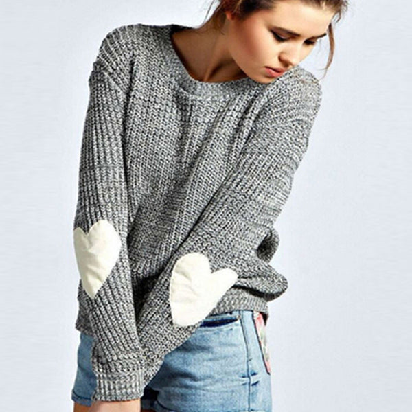 Winter Women Sweaters Pullovers Knitted