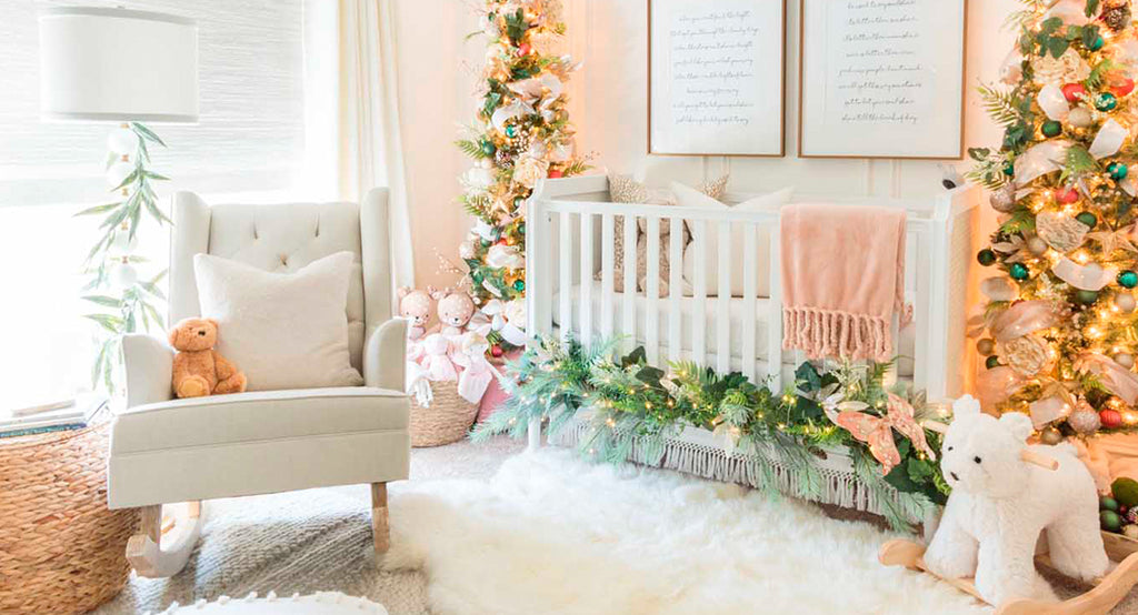 Christmas nursery decor