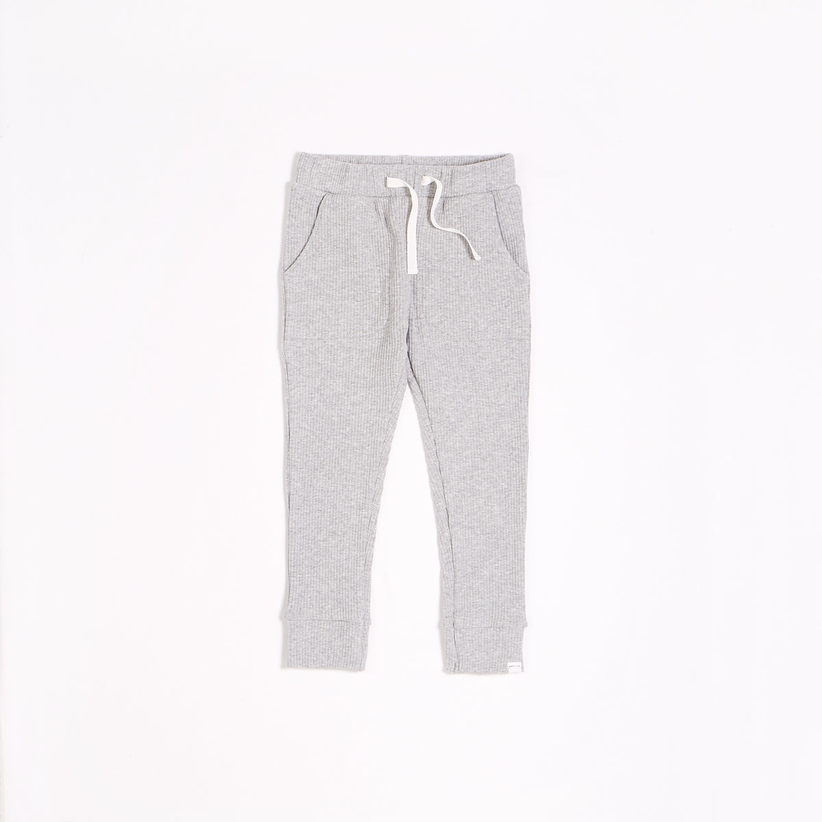 Heather Grey Modal Rib Jogger (2T-14T)