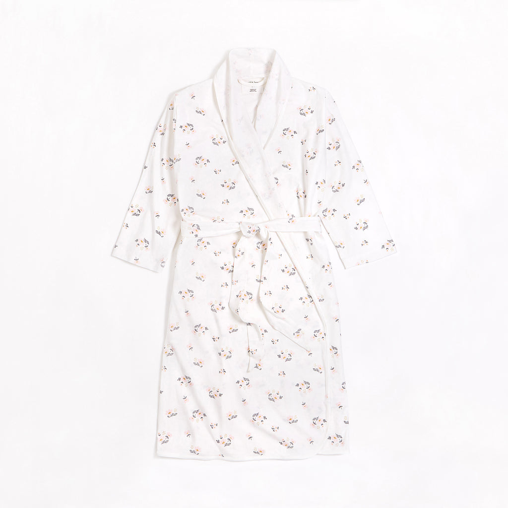Flower Print on Mothers' Day Robe