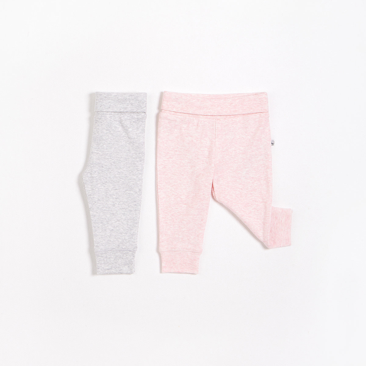 Heather Pink & Heather Grey Essential Leggings – 2 Pack