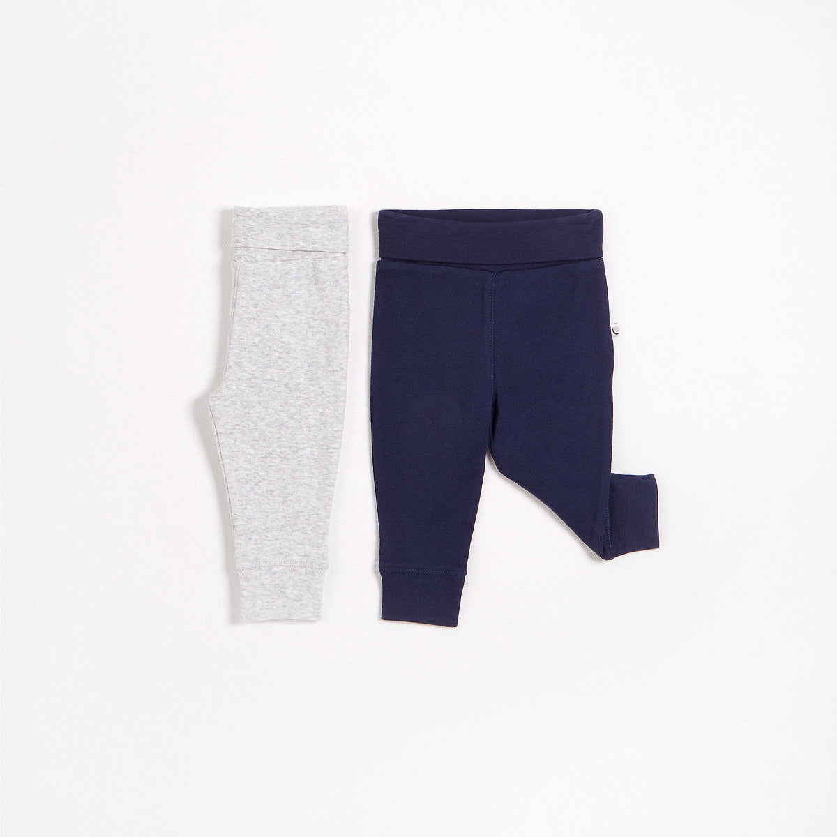 Navy & Grey Essential Leggings – 2 Pack