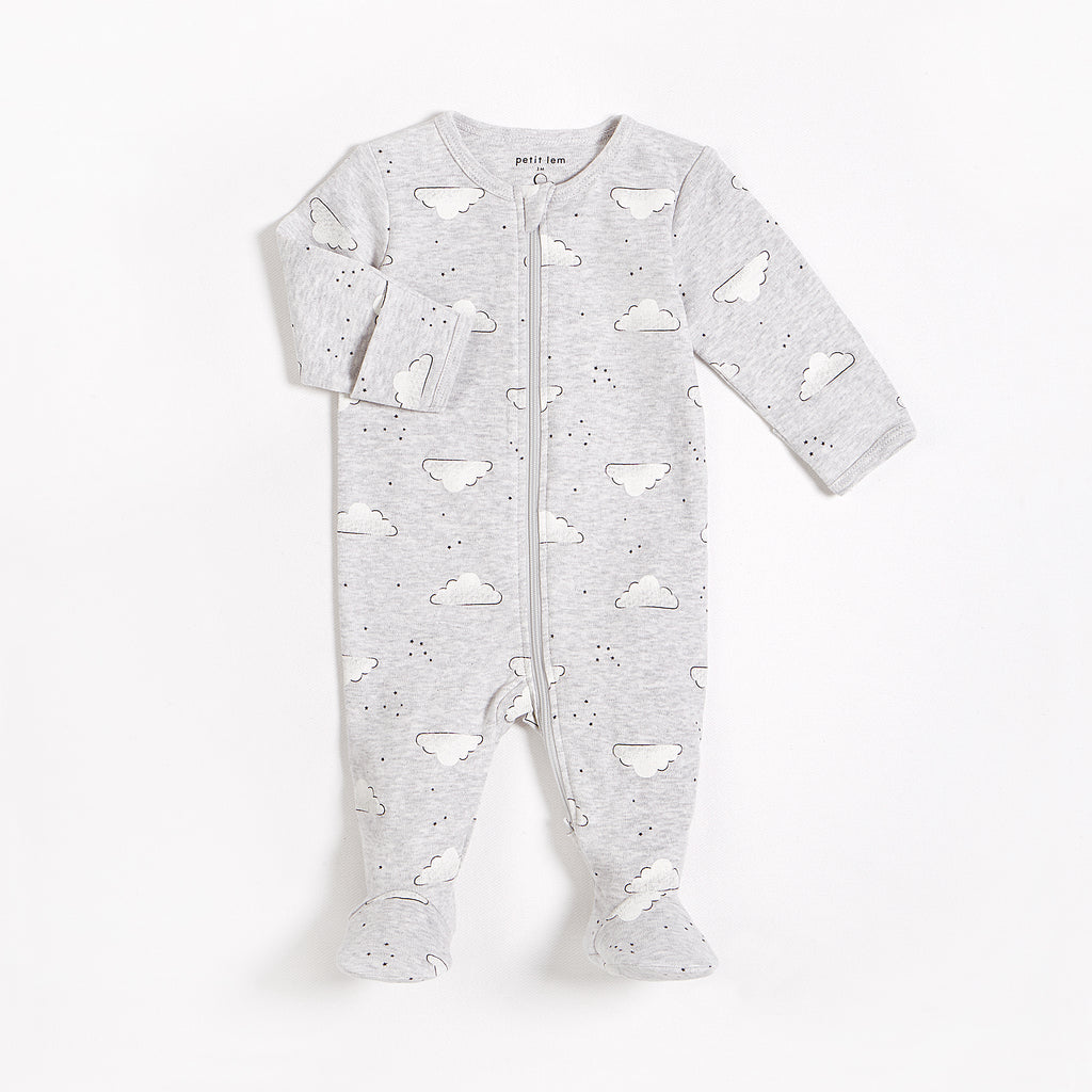 "Heather Grey ""Fluffy Clouds"" Sleeper"