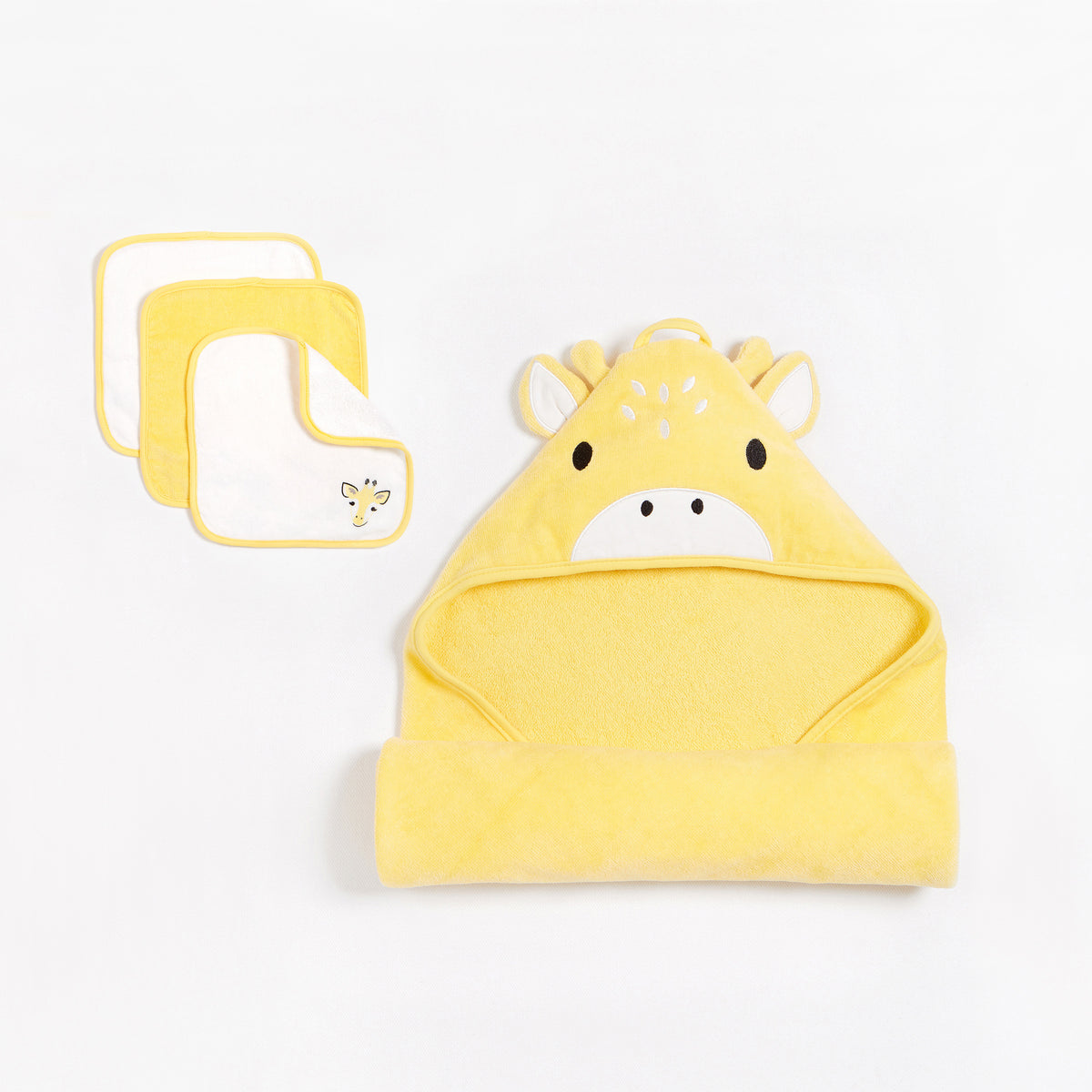 """Giraffe"" Bath Set (4pcs.)"