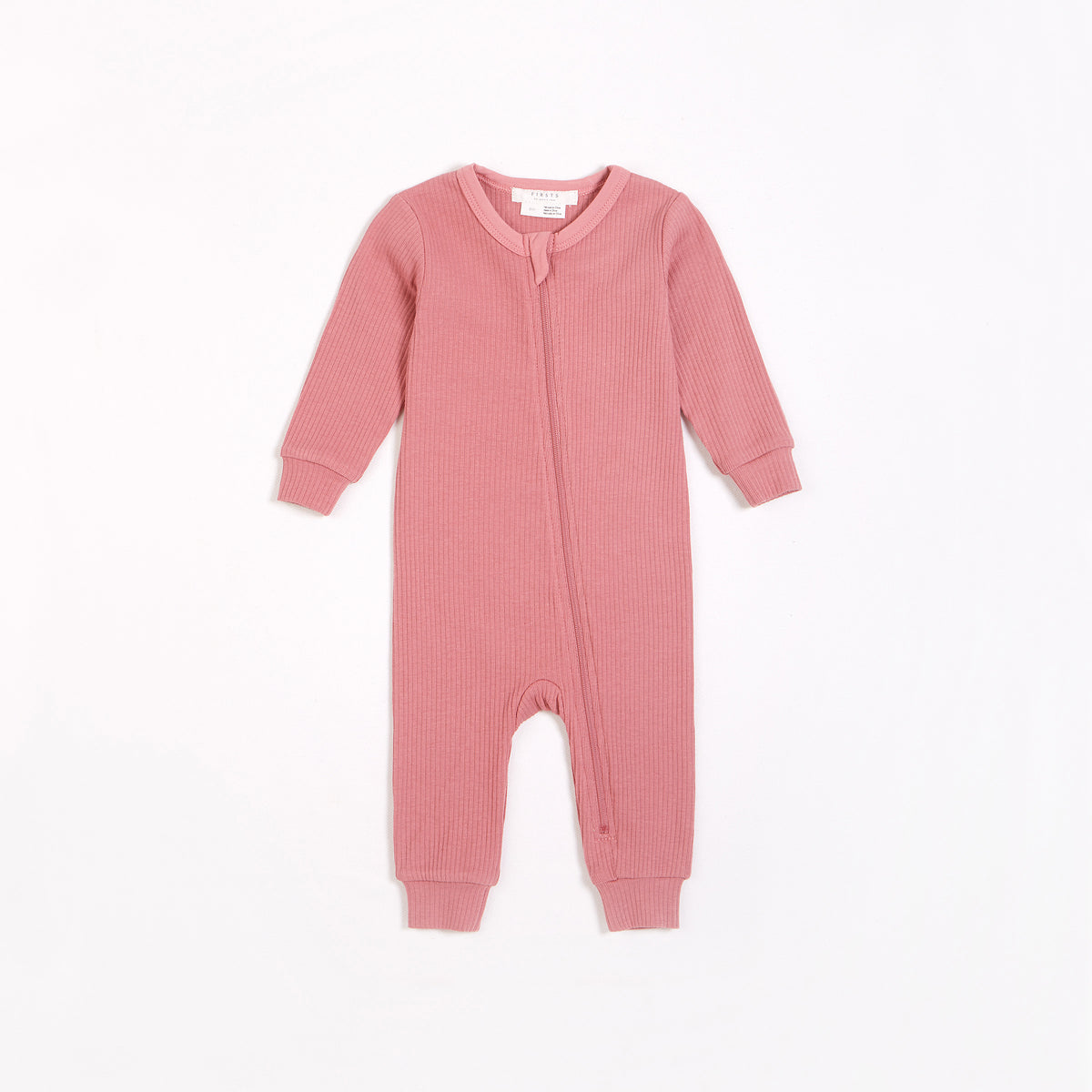Dusty Rose Modal Rib Sleeper