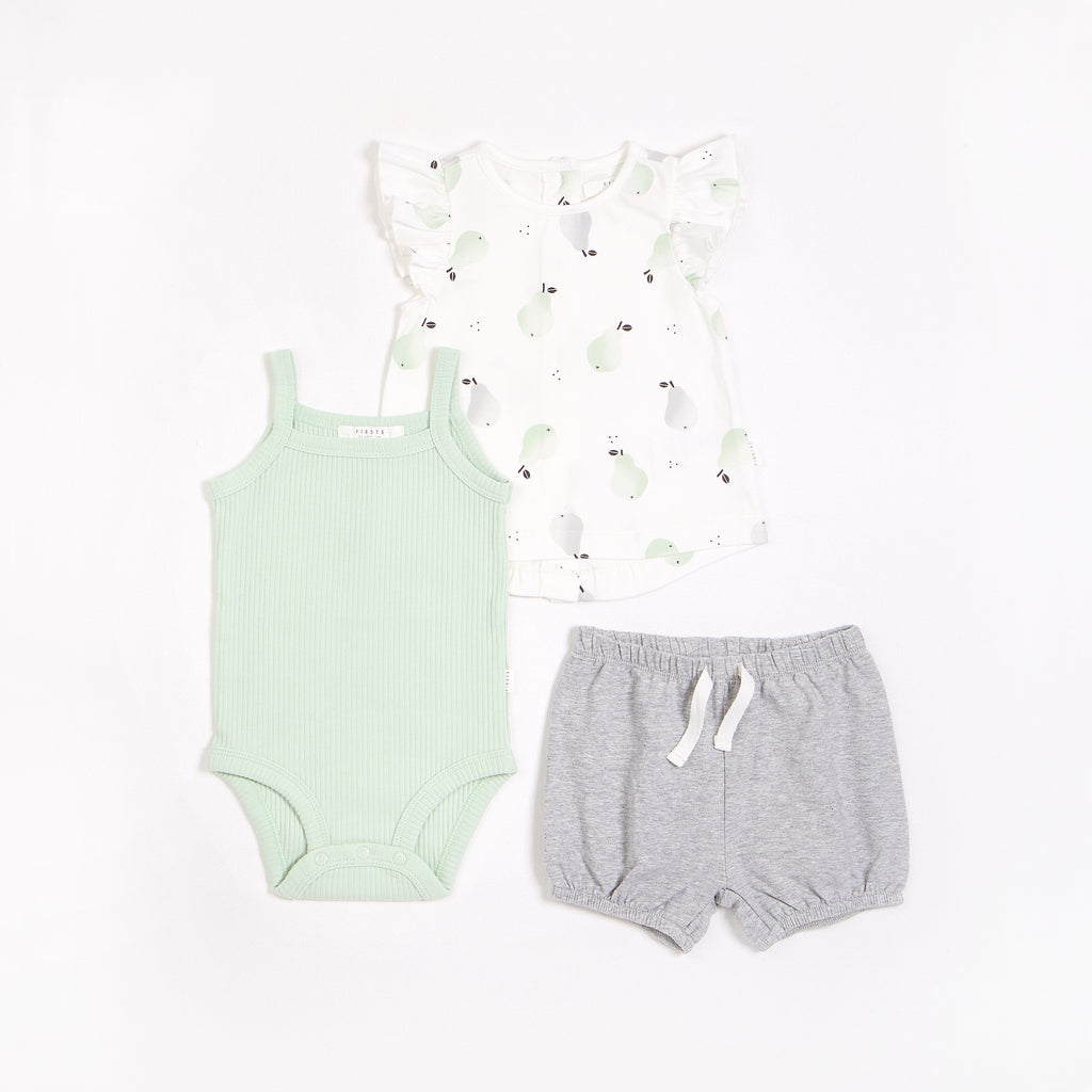 Poire 3pc Outfit Set