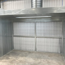 SPRAY BOOTH EQUIPMENT (DRY FILTER EXTRACT)