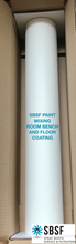 Paint Mixing Room Bench & Floor Protective Coating - 100cm Wide x 25m Long Roll