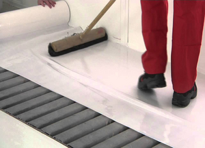 Spray Booth Floor Protective Coating (60cm Width Roll x 50m Long)