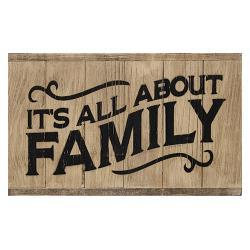 All About Family 6-Panel Sign