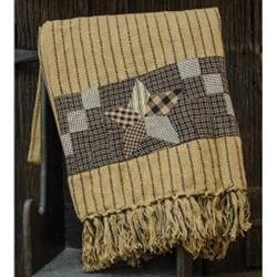 Farmhouse Star Woven Throw