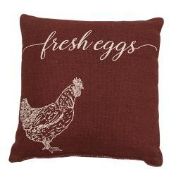 Fresh Eggs Pillow - 10""