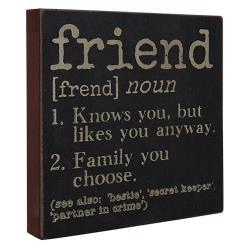 Definition Sign - Friend