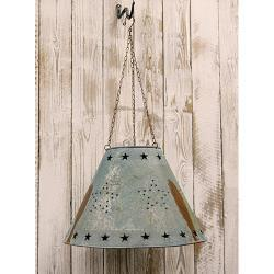 Galvanized Star Lampshade