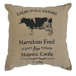 Majestic Cattle Pillow Cover, 16""