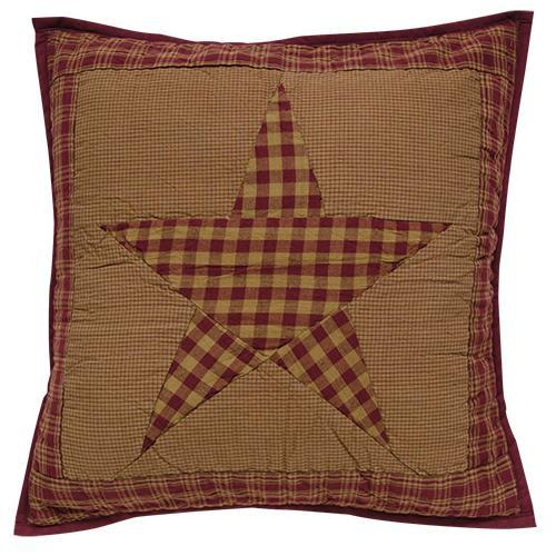 "Ninepatch Pillow, 16"" Sq"