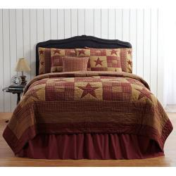 Queen Ninepatch Bed Quilt- Affordable Quality Home Decor