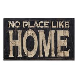No Place Like Home Panel Sign