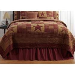Ninepatch Bed Skirt