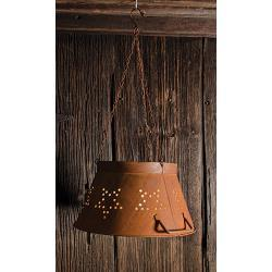 Rusty Star Colander Shade, Small