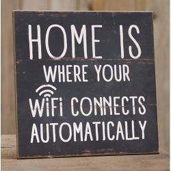 Wifi Connects Sign